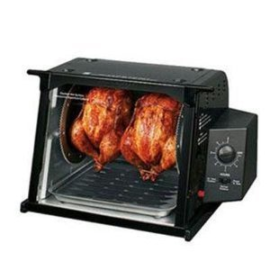 New Ronco ST4000BLGEN Series Rotisserie-Black Showtime Rotisserie