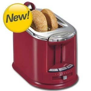 New Hamilton Beach HB 2 Slice Toaster Red (22324) -