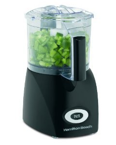 New Hamilton Beach 72705 Ensemble 3-Cup Food Chopper, Black