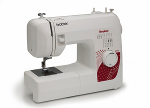 Simplicity by Brother SB170 Simply Affordable Sewing Machine, instructions, Good Basic Machine, Starter Machine, Basic, First, starter, beggining, easy to use, stitches, Beginners, authorized dealer, Simplicity Brother SB170 Simply Affordable 17Stitch Freearm Sewing Machine, Top Bobbin, Buttonhole, LED Light Best Basic Buy, Dealer Instructions