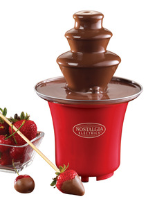 New Nostalgia Electrics CFF300 Mini Chocolate Fountain