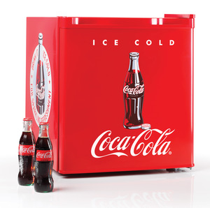 New Nostalgia Electrics Coca-Cola Series CRF170COKE 1.7-Cubic Foot Mini Fridge