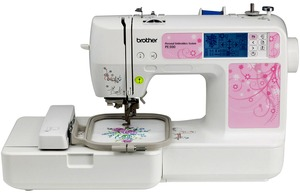 "Brother, PE500, HE1, pe-500, pe500 fs, pe500 refurb, pe500 factory serviced, pe500 new, Embroidery, Embroidery Machine, 4""x4"", 4x4, 400spm, USB, iBroidery, Touch Screen,"