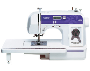 cs6000i, Brother XR9500PRW, CS6000i, HS2500, CP6500, Computer Sewing Machines, hs2000, hs2500, cp7500, cp6500, xr9500prw, Brother XR7700, 70/110 Stitch, Computer, Sewing, Quilting, Machine, Extension Table, 7x1-Step Buttonholes, 10 Feet, Threader, Start Stop, Speed Control, Needle Up Down, Drop Feed, 19Lbs, Cover
