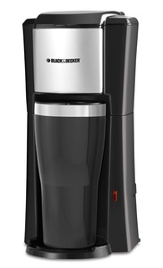 In Stock Black & Decker® CM618 Single Serve Coffee Maker