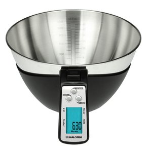 Kalorik, EKS, 39724, BK, Black, iSense, Food, Scale, Battery, operated