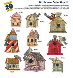 Amazing Designs / Great Notions 1252 Birdhouse III Multi-Formatted CD