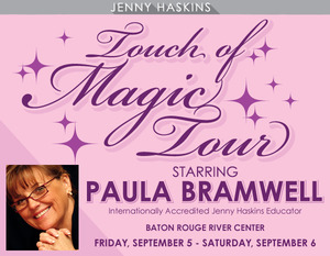 Jenny Haskins Touch of Magic Tour 2014 Sewing Quilting Embroidery