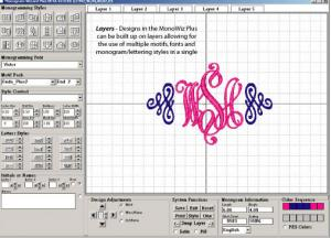 Monogram, Wizard PLUS, Custom Lettering, Software, Required for, Alpha Packs CD's, 55 Fonts + Motifs, Tutorial DVD, AlphaPak 12 &amp; 14, 3700CD, Format, Color