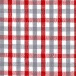 Fabric Finders 15 Yard Bolt 9.34 A Yd T18 Red, White, and Grey Check 100 percent Cotton 60 inch Fabric