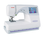 "Janome MC9700 Demo, 25/10YrExtendedWnty* (MC9500+Color Screen) 5.5x7.9""Hoop Sewing Embroidery Quilt Machine 96Designs 3Fonts Resize90-120% ATACardPort"