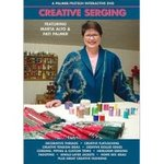 Palmer Pletsch Creative Serging Parts I & II Based on Serger Idea Book. on a single DVD Video, 2 Hours Featuring Marta Alto with Pati Palmer